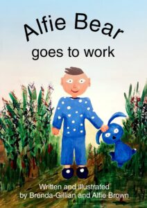 Cover for Alfie Bear goes to work