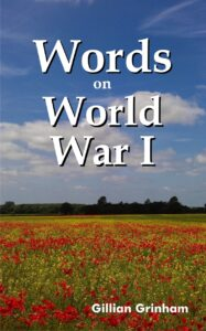 Cover for Words on World War I