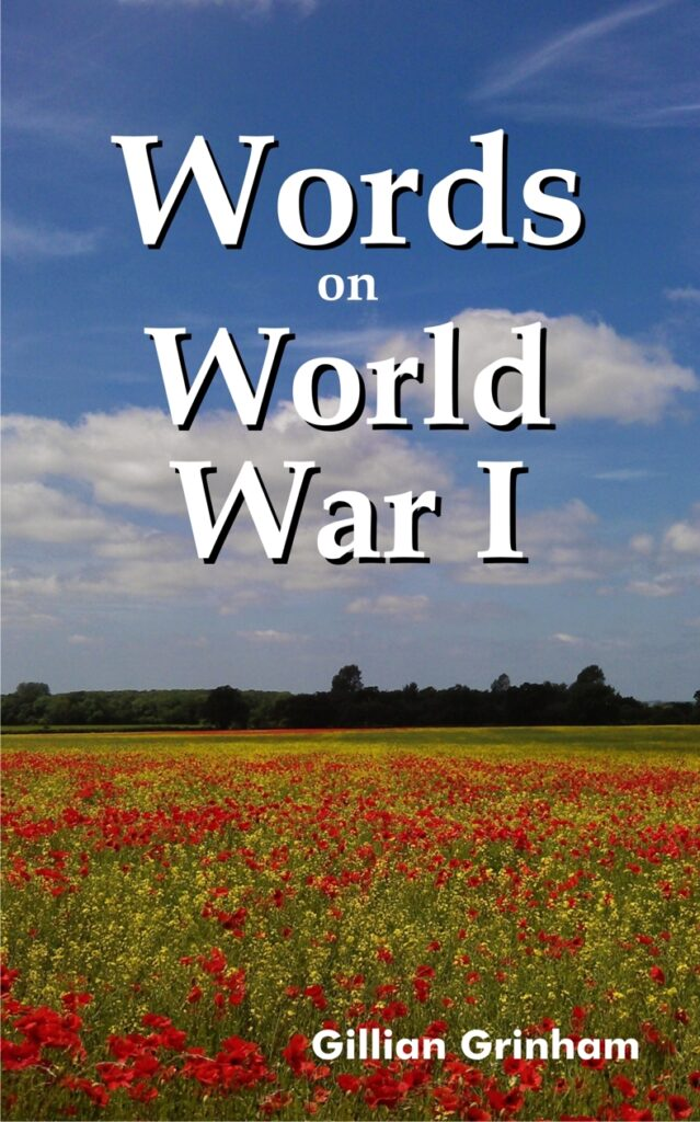 Words on World War I