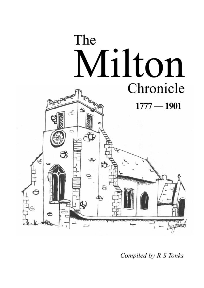 The Milton Chronicle 1777 - 1901